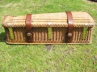 Vintage basket straps