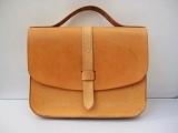 russet laptop satchel