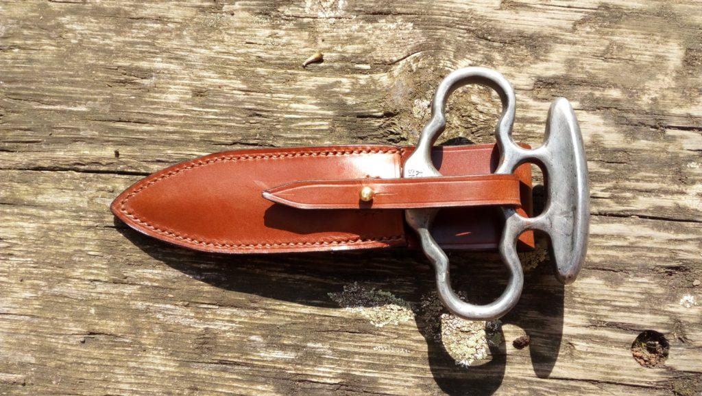 Bespoke knife sheath